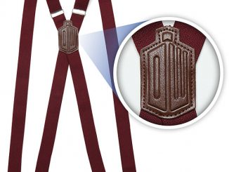 Doctor Who 11th Doctors Red Suspenders