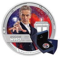 Doctor Who 12th Doctor Coin