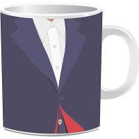 Doctor Who 12th Doctor Costume Mug