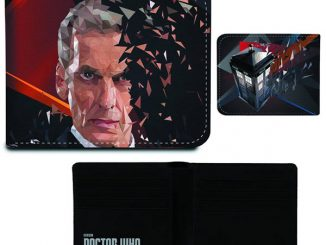 Doctor Who 12th Doctor Geometric Wallet