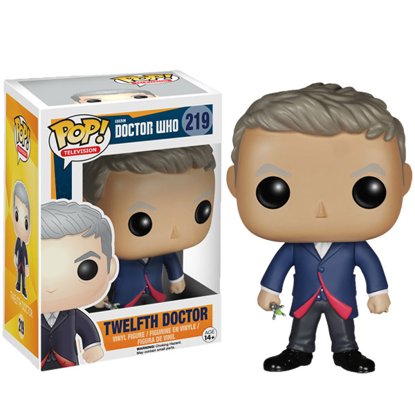 Doctor Who 12th Doctor Pop Vinyl Figure