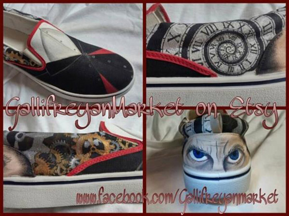 Doctor Who 12th Doctor Vans