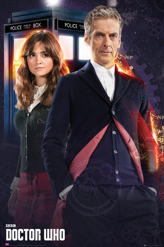 Doctor Who 12th Doctor and Clara Maxi Poster