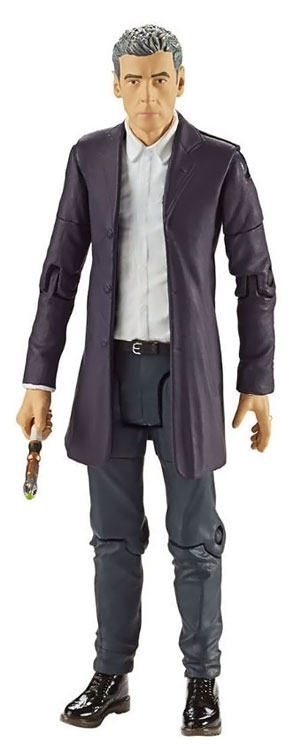 Doctor Who 12th Doctor in White Shirt Action Figure