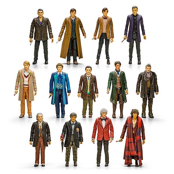 Doctor Who 13 Doctors Figure Set - Gadget Lovers