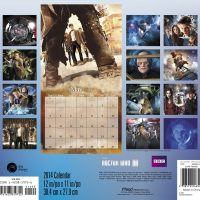 Doctor Who 2014 16 Month Calendar