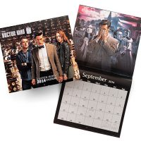 Doctor Who 2014 Wall Calendar