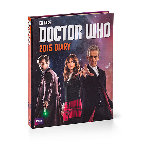 Doctor Who 2015 Day Planner