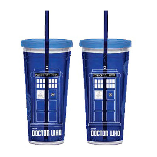 Doctor Who 24 oz. Acrylic Travel Cup