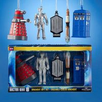 Doctor Who 2D Printed Ornament Gift Set