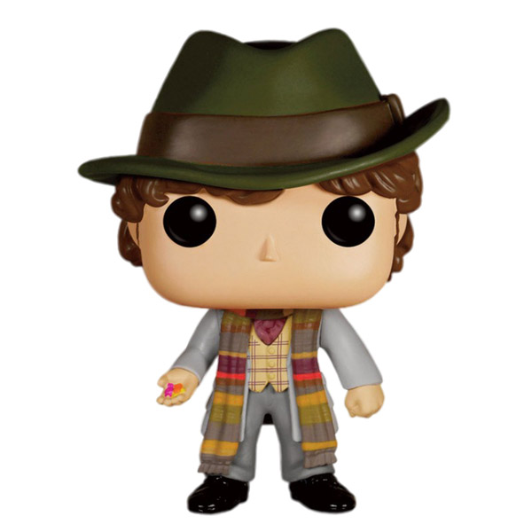 Doctor Who 4th Doctor with Jelly Babies Pop Vinyl Figure