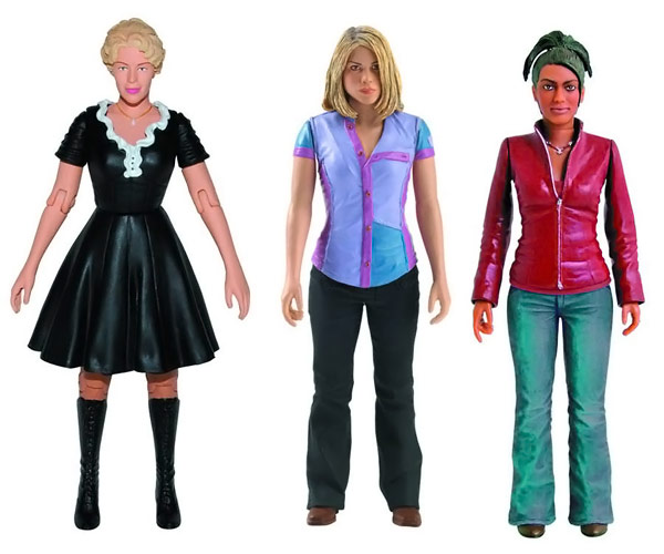 Doctor Who 5 Inch Companion Action Figure Set 5 Pack