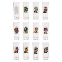 Doctor Who 50th Anniversary 12 Pack Shot Glasses