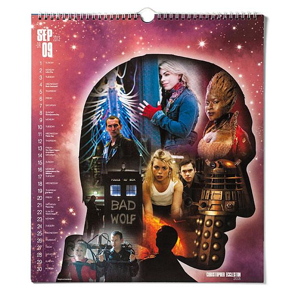 Doctor Who 50th Anniversary Calendar