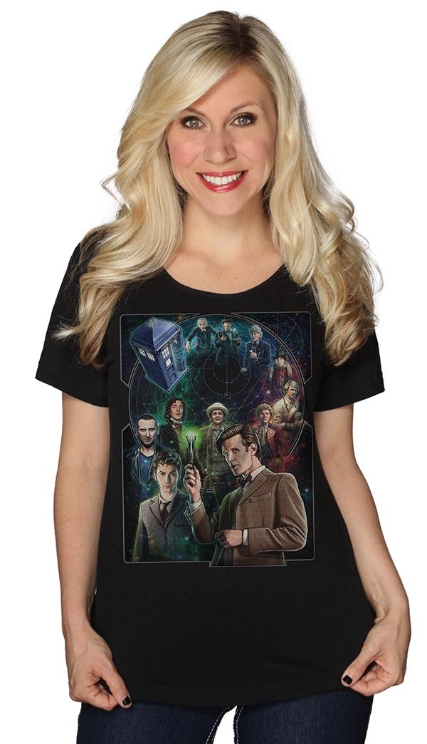 Doctor Who 50th Anniversary Ladies Shirt
