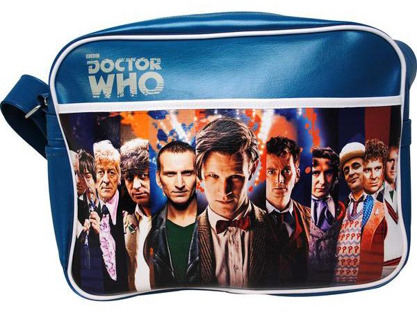 Doctor Who 50th Anniversary Retro 11 Doctors Bag