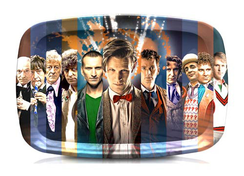Doctor Who 50th Anniversary Serving Tray