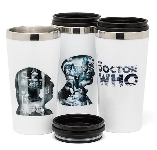Doctor Who 50th Anniversary Travel Mug Set