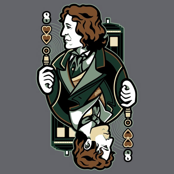 Doctor Who 8th of Hearts T-Shirt