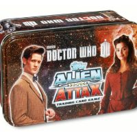 Doctor Who Alien Attax Trading Card Game Tin