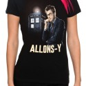Doctor Who Allons y Girls Shirt
