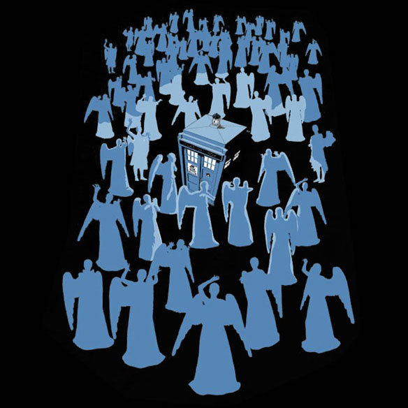 Doctor Who Angel Death Trap Shirt