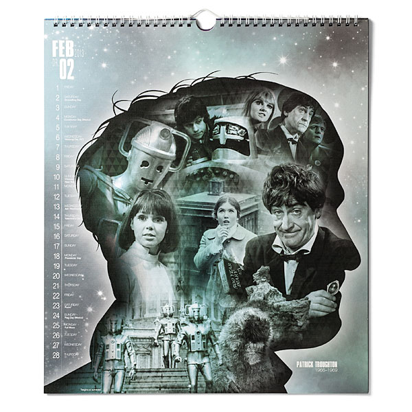 Doctor Who Anniversary Calendar