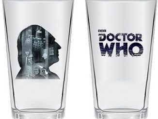Doctor Who Anniversary First Doctor Drinking Glasses