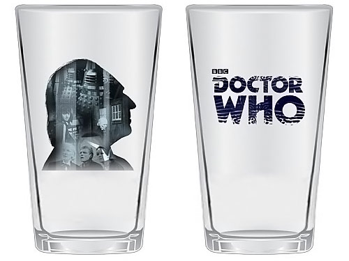Doctor Who Anniversary First Doctor Glass Set