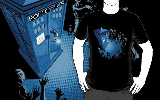 Doctor Who Bad Landing Shirt