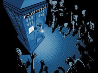 Doctor Who Bad Landing T Shirt