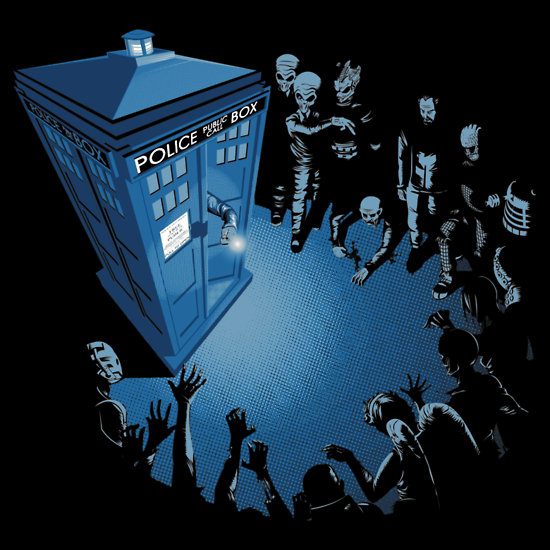 Doctor Who Bad Landing T Shirt