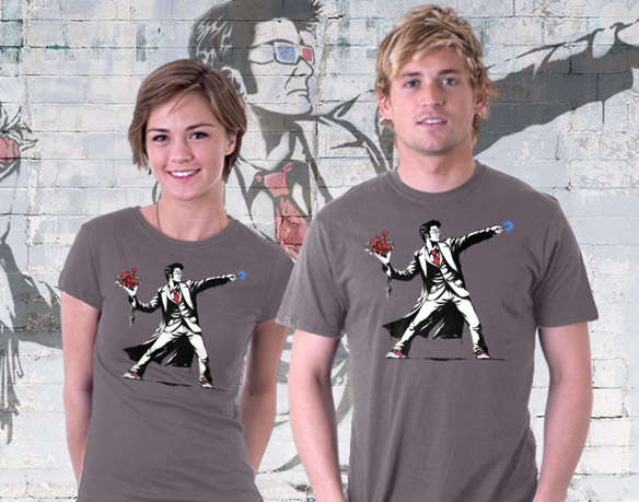 Doctor Who Banksy10 T-Shirt