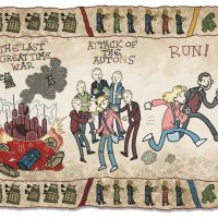 Doctor Who Baywheux Tapestry Ninth Doctor