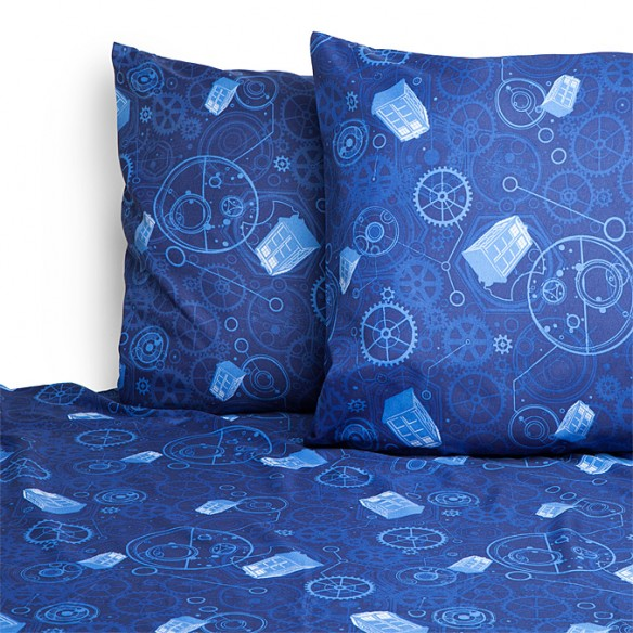 Doctor Who Bed Sheets