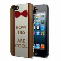 Doctor Who Bow Ties Are Cool iPhone 5 Hard Cover