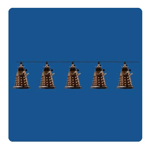 Doctor Who Bronze Dalek Light Set