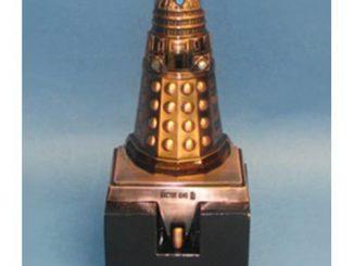 Doctor Who Bronze Dalek Stocking Hanger