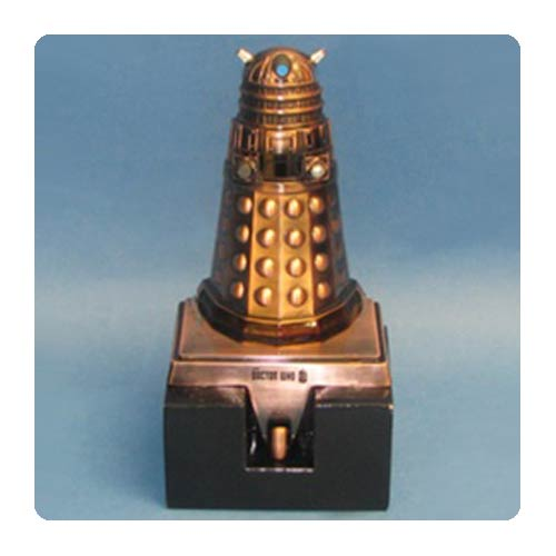 Doctor Who Bronze Dalek Stocking Hanger