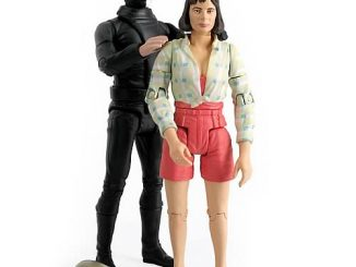 Doctor Who Caves of Androzani Peri and Sharaz Jek Figures