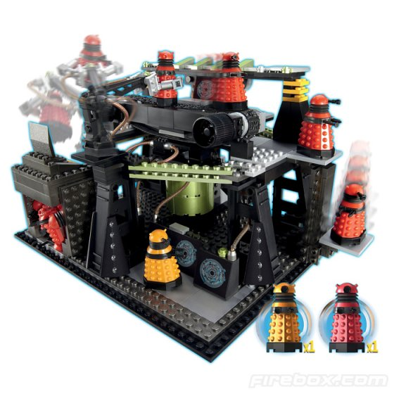 Doctor Who Character Building Dalek Factory