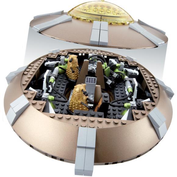 Doctor Who Character Building Set: Dalek Ship