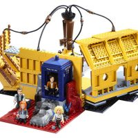 Doctor Who Character Building Ultimate TARDIS Playset