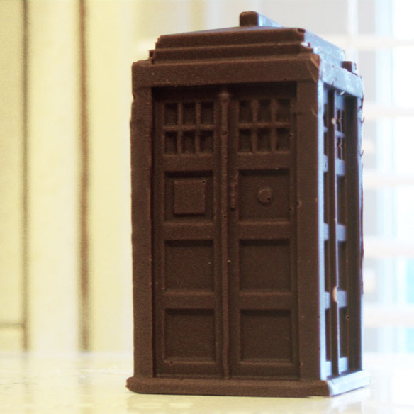 Doctor Who Chocolate TARDIS