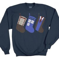 Doctor Who Christmas Stockings Sweater