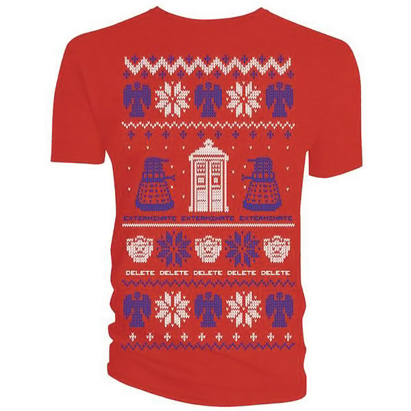 Doctor Who Christmas Sweater Shirt