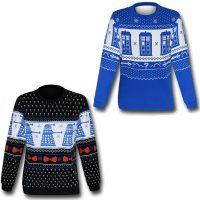 Doctor Who Christmas Sweater Sweatshirt
