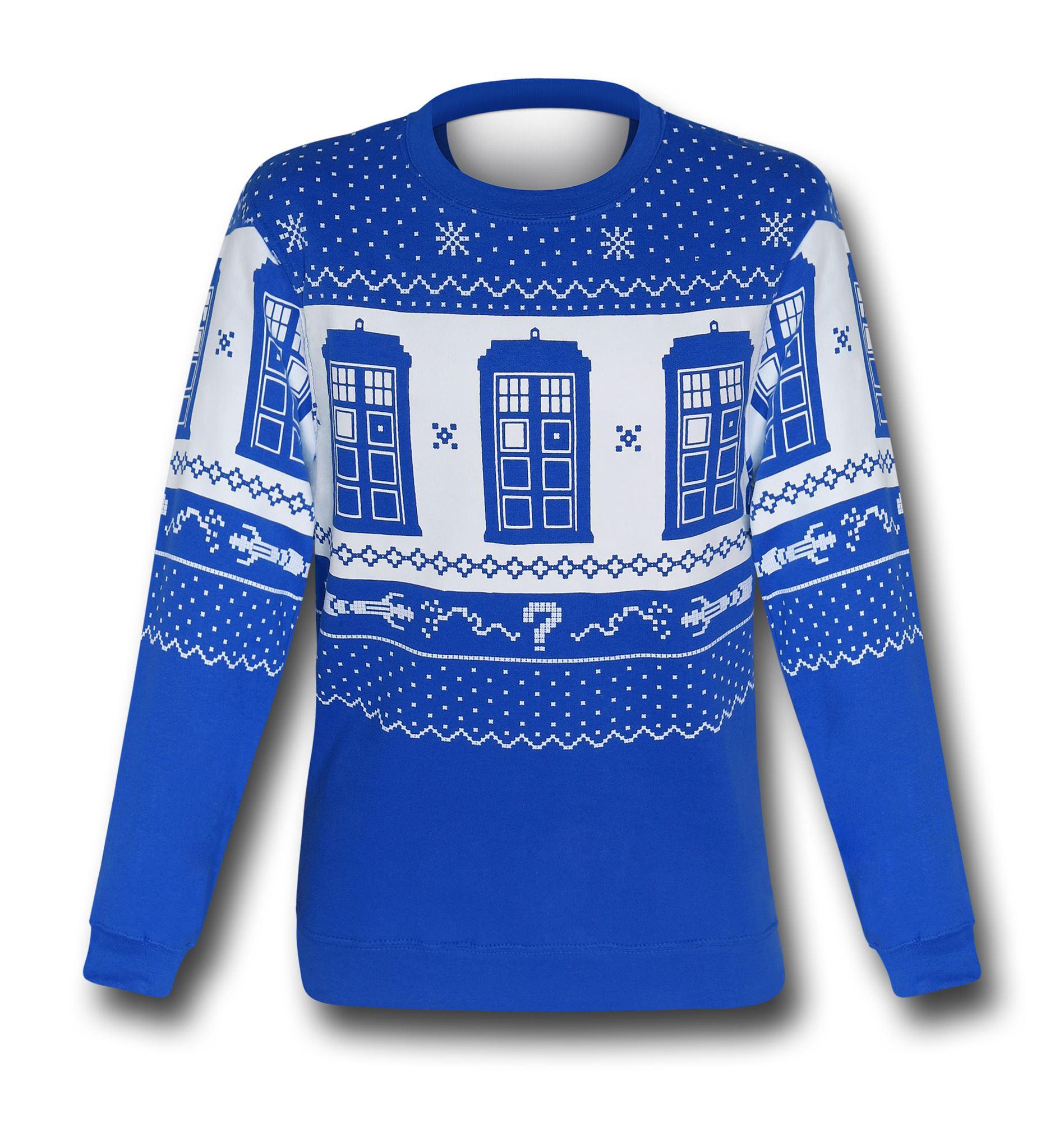 Doctor Who Christmas Sweater Sweatshirts