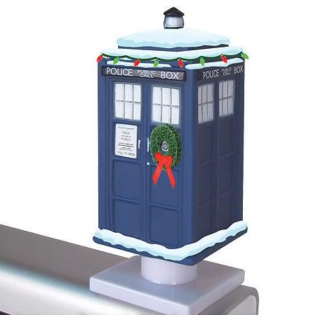 Doctor Who Christmas TARDIS Monitor Mate