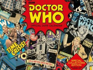 Doctor Who Classic Square Calendar 2015
